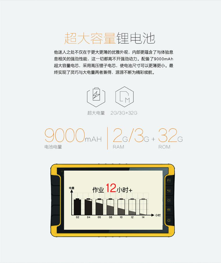华测LT600手持GPS平板