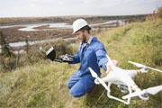 使用无人机精确测量土地面积