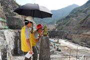 国测地形一队为引汉济渭工程提供测绘保障服务纪实
