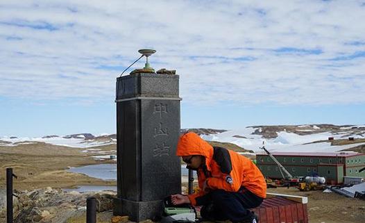 武大测绘人参与南极科考纪略