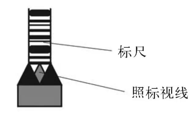 电子水准仪条码尺照准