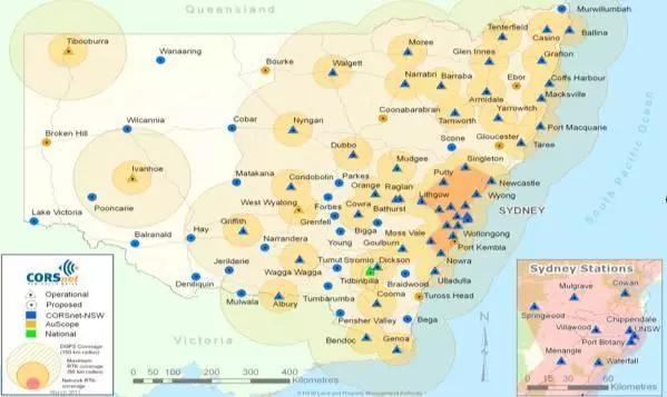 澳大利亚CORSnet-NSW系统