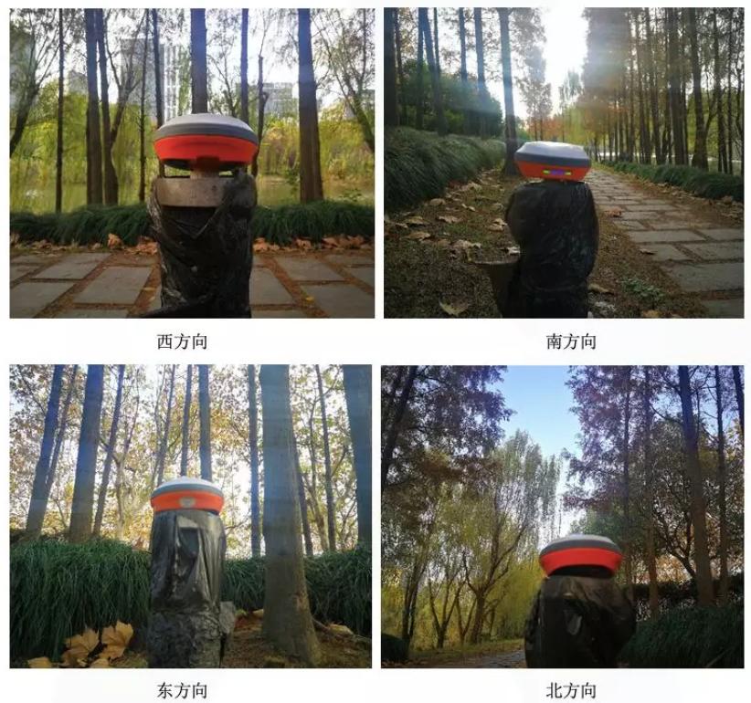 千寻RTK树荫遮挡测试