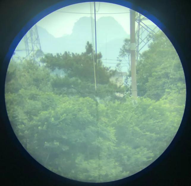 弧垂观测角β望远镜视图