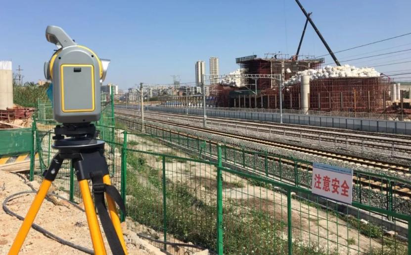 (天宝)TrimbleSX10三维激光扫描仪在铁路轨道检测中的应用