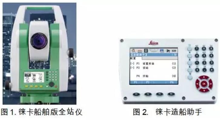 徕卡船舶测量解决方案由以下产品组成