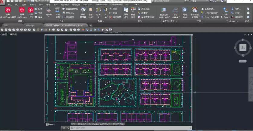 图6 AutoCAD用CloudWorx插件绘制成图成果