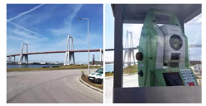 徕卡全站仪助力桥梁修复实时监测