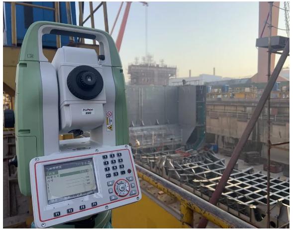徕卡造船助手在华东某船厂分段测量中的应用